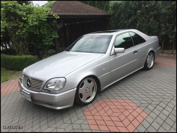 Mercedes-Benz CL600 1995 pakiet AMG