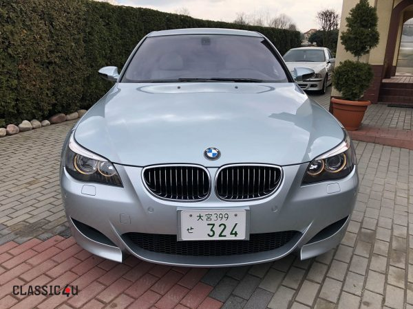 BMW M5 2005 – 51.000km – Silverstone