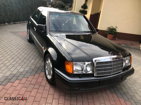 Mercedes Benz W124 500E 1991 – 147.000 km – Amazing Service History – First owner