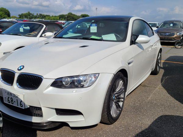 BMW M3 E92 Mineral White